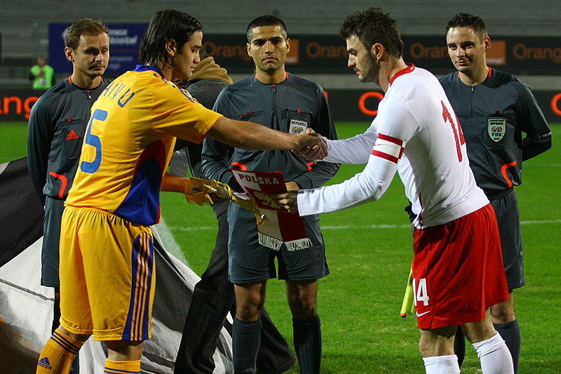 Polska 0-1 Rumunia - fot. Piotr Galas (zdjęcie 16 z 39)