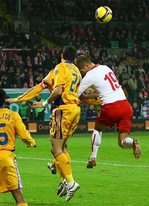 Polska 0-1 Rumunia - fot. Piotr Galas (zdjęcie 17 z 39)