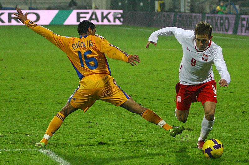 Polska 0-1 Rumunia - fot. Piotr Galas (zdjęcie 19 z 39)