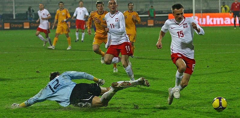 Polska 0-1 Rumunia - fot. Piotr Galas (zdjęcie 21 z 39)