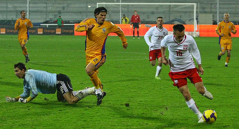Polska 0-1 Rumunia - fot. Piotr Galas (zdjęcie 22 z 39)