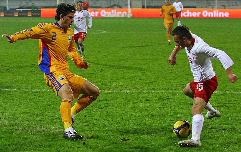 Polska 0-1 Rumunia - fot. Piotr Galas (zdjęcie 23 z 39)