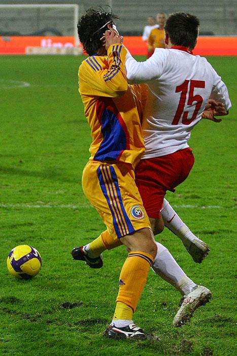 Polska 0-1 Rumunia - fot. Piotr Galas (zdjęcie 24 z 39)