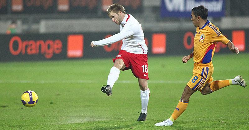 Polska 0-1 Rumunia - fot. Piotr Galas (zdjęcie 27 z 39)