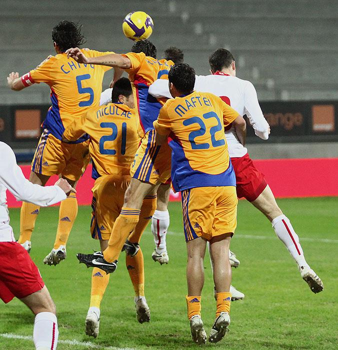 Polska 0-1 Rumunia - fot. Piotr Galas (zdjęcie 28 z 39)