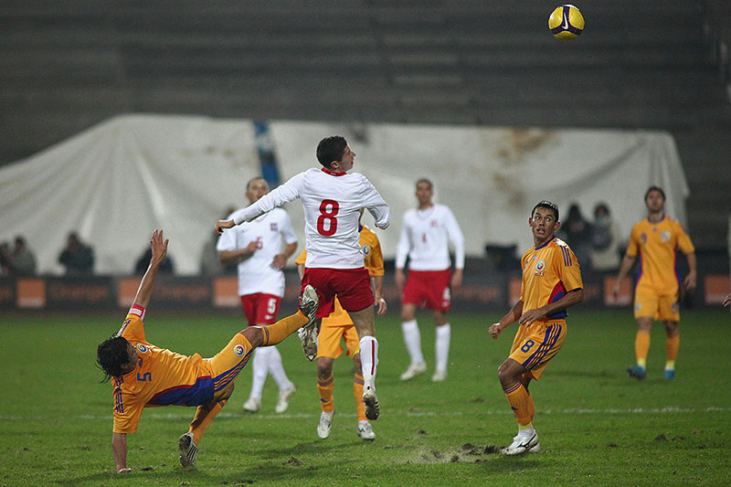 Polska 0-1 Rumunia - fot. Piotr Galas (zdjęcie 30 z 39)