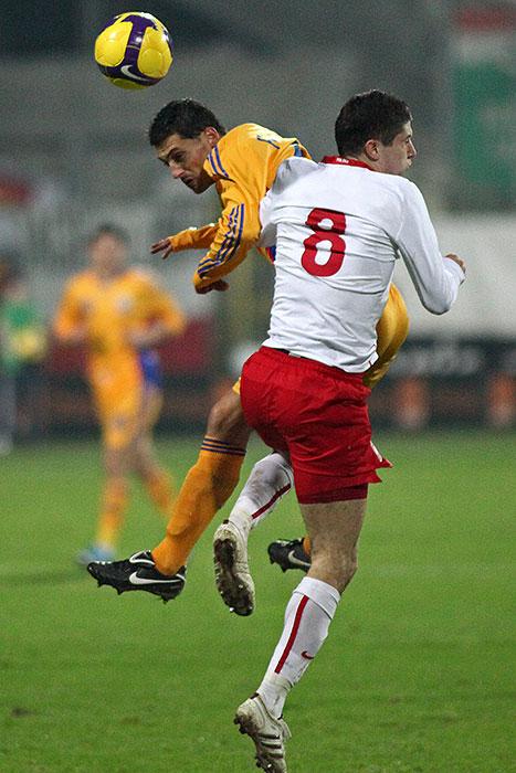 Polska 0-1 Rumunia - fot. Piotr Galas (zdjęcie 33 z 39)