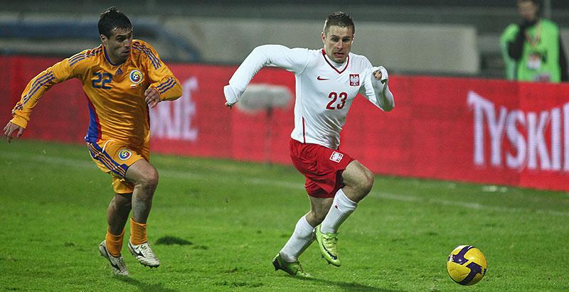 Polska 0-1 Rumunia - fot. Piotr Galas (zdjęcie 34 z 39)
