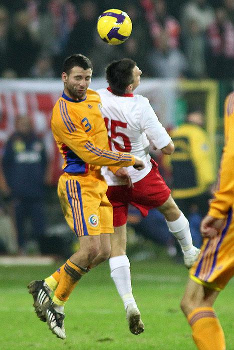 Polska 0-1 Rumunia - fot. Piotr Galas (zdjęcie 35 z 39)