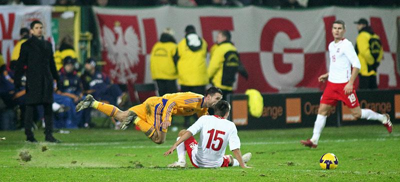 Polska 0-1 Rumunia - fot. Piotr Galas (zdjęcie 36 z 39)
