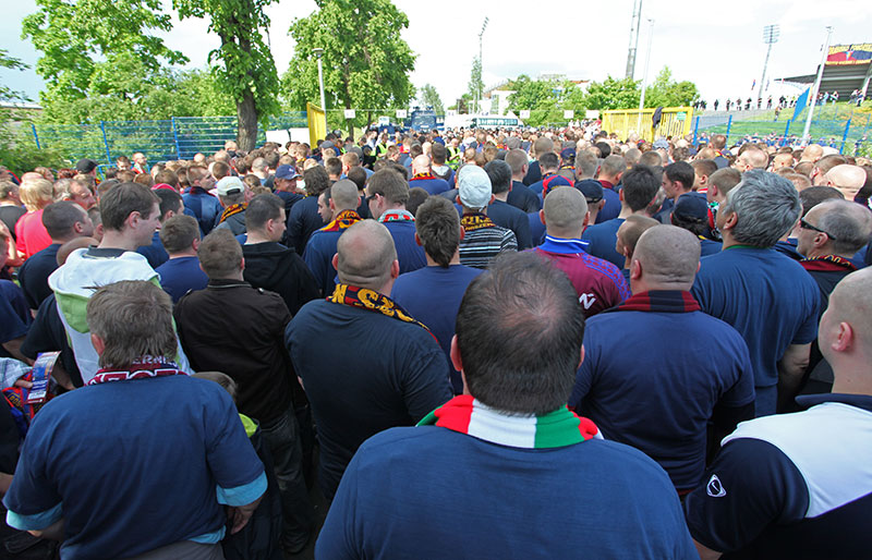 Pogoń Szczecin 0-1 Jagiellonia Białystok - fot. Piotr Galas (zdjęcie 2 z 39)