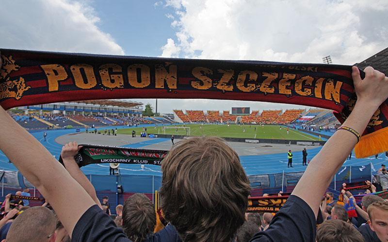Pogoń Szczecin 0-1 Jagiellonia Białystok - fot. Piotr Galas (zdjęcie 5 z 39)