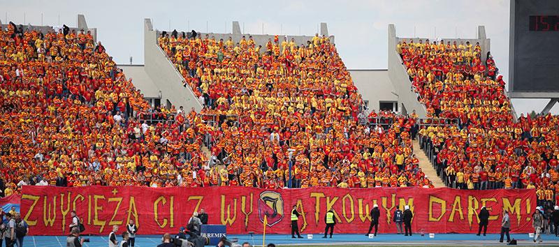 Pogoń Szczecin 0-1 Jagiellonia Białystok - fot. Piotr Galas (zdjęcie 14 z 39)