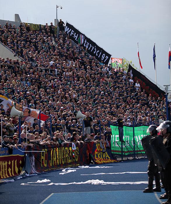 Pogoń Szczecin 0-1 Jagiellonia Białystok - fot. Piotr Galas (zdjęcie 27 z 39)