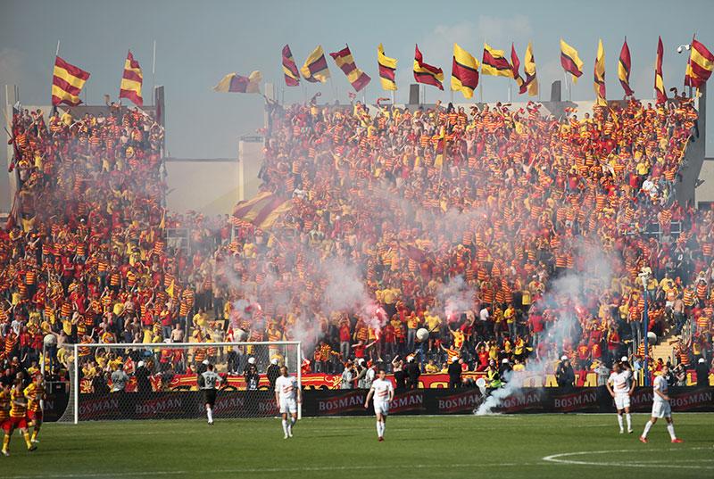 Pogoń Szczecin 0-1 Jagiellonia Białystok - fot. Piotr Galas (zdjęcie 32 z 39)