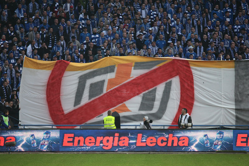 Lech Poznań 1-0 Legia Warszawa - fot. Piotr Galas (zdjęcie 8 z 26)