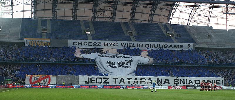 Lech Poznań 1-0 Legia Warszawa - fot. Piotr Galas (zdjęcie 9 z 26)