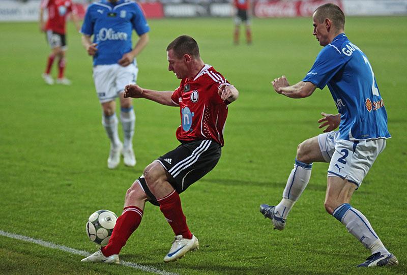 Lech Poznań 1-0 Legia Warszawa - fot. Piotr Galas (zdjęcie 10 z 26)