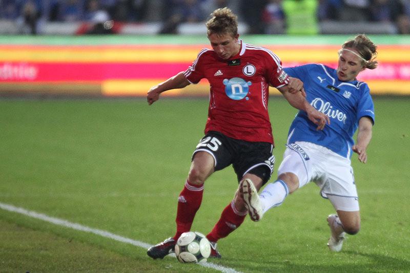 Lech Poznań 1-0 Legia Warszawa - fot. Piotr Galas (zdjęcie 11 z 26)