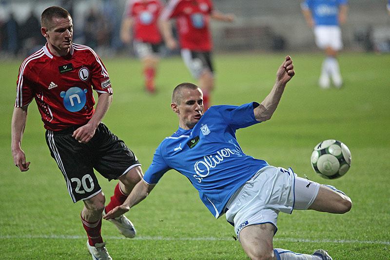 Lech Poznań 1-0 Legia Warszawa - fot. Piotr Galas (zdjęcie 12 z 26)