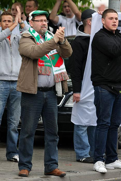 Pikieta kibiców Legii Warszawa - fot. Piotr Galas (zdjęcie 24 z 55)