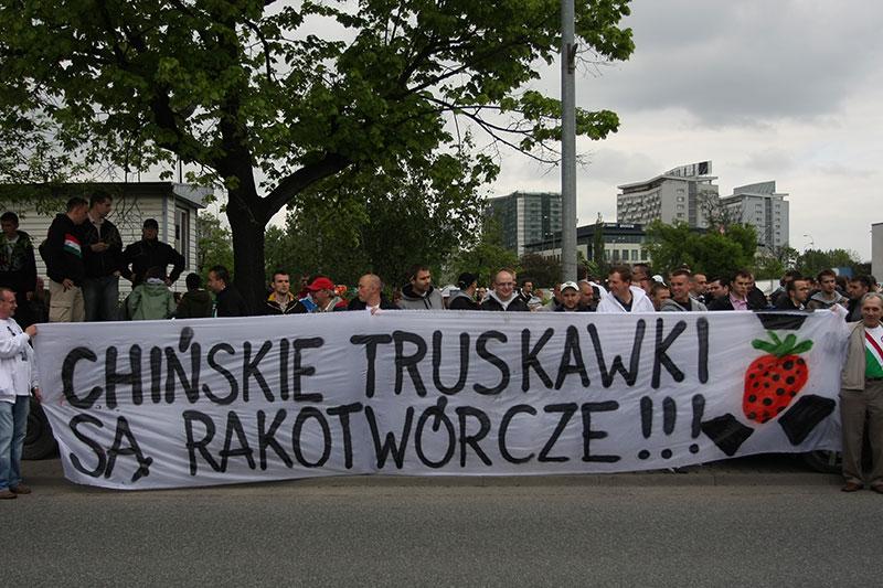Pikieta kibiców Legii Warszawa - fot. Piotr Galas (zdjęcie 45 z 55)