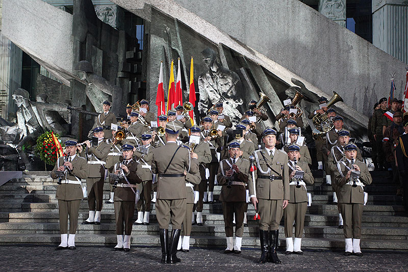 Apel Poległych na pl. Krasińskich - fot. Piotr Galas (zdjęcie 21 z 43)