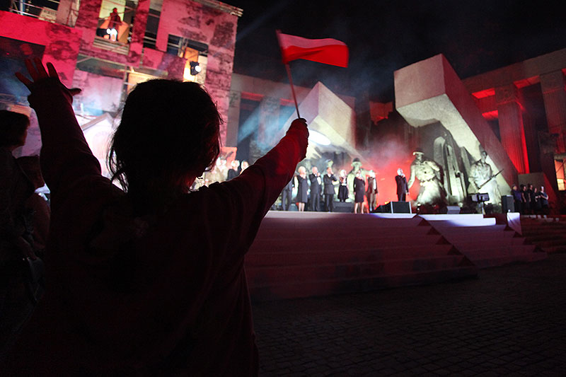 Apel Poległych na pl. Krasińskich - fot. Piotr Galas (zdjęcie 41 z 43)