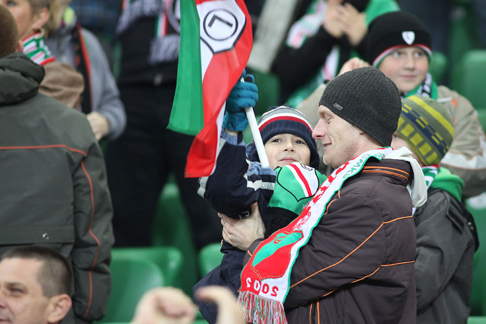 Legia Warszawa 3-0 Arka Gdynia - fot. Piotr Galas (zdjęcie 32 z 61)