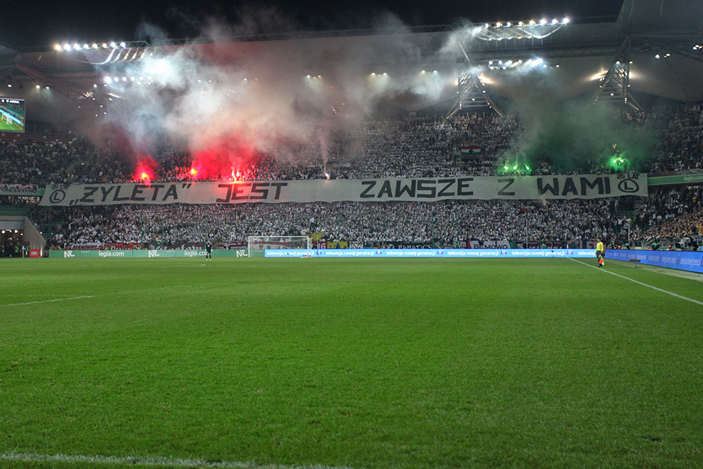 Legia Warszawa 3-0 Arka Gdynia - fot. Piotr Galas (zdjęcie 49 z 61)
