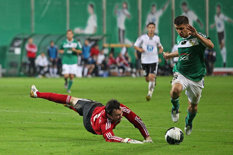 Legia Warszawa 0-2 GKS Bełchatów - fot. Piotr Galas (zdjęcie 17 z 59)
