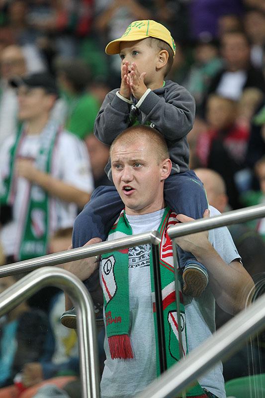 Legia Warszawa 0-2 GKS Bełchatów - fot. Piotr Galas (zdjęcie 38 z 59)