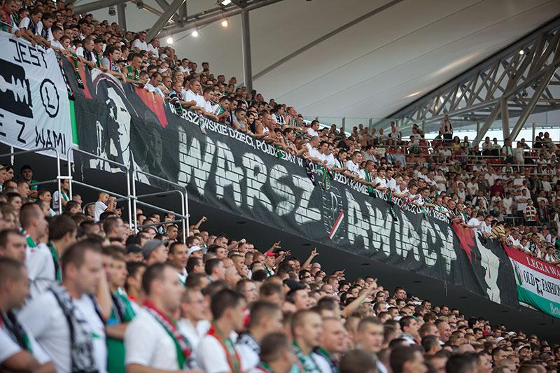 Legia Warszawa 2-1 Cracovia Kraków - fot. Piotr Galas (zdjęcie 1 z 106)