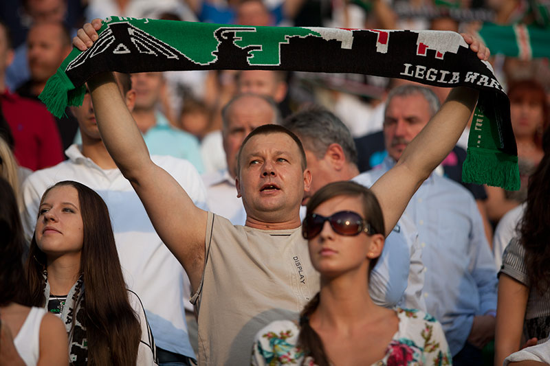 Legia Warszawa 2-1 Cracovia Kraków - fot. Piotr Galas (zdjęcie 13 z 106)