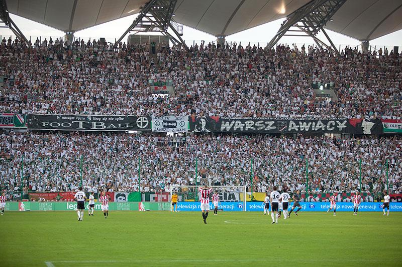 Legia Warszawa 2-1 Cracovia Kraków - fot. Piotr Galas (zdjęcie 17 z 106)