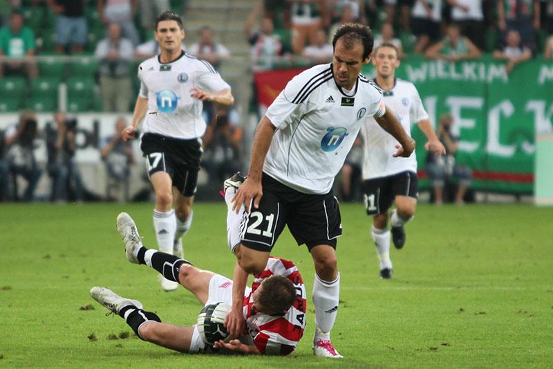 Legia Warszawa 2-1 Cracovia Kraków - fot. Piotr Galas (zdjęcie 33 z 106)