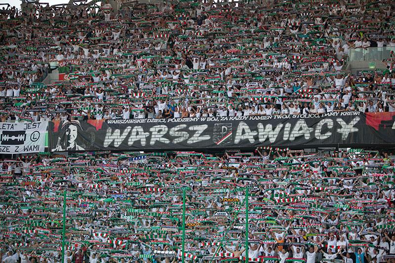 Legia Warszawa 2-1 Cracovia Kraków - fot. Piotr Galas (zdjęcie 6 z 106)