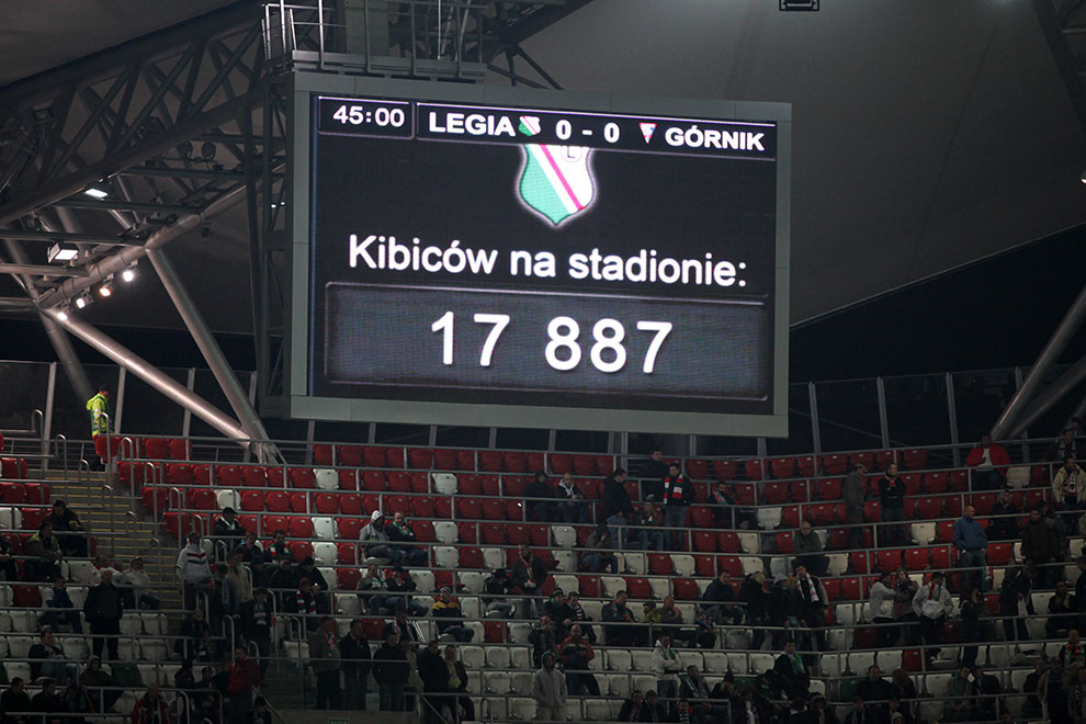 Legia Warszawa 2-1 Górnik Zabrze - fot. Piotr Galas (zdjęcie 33 z 66)