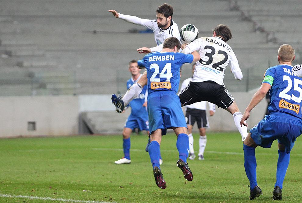 Legia Warszawa 2-1 Górnik Zabrze - fot. Piotr Galas (zdjęcie 55 z 66)