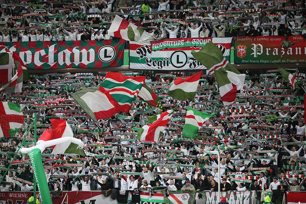 Legia Warszawa 2-0 Jagiellonia Białystok - fot. Piotr Galas (zdjęcie 14 z 77)