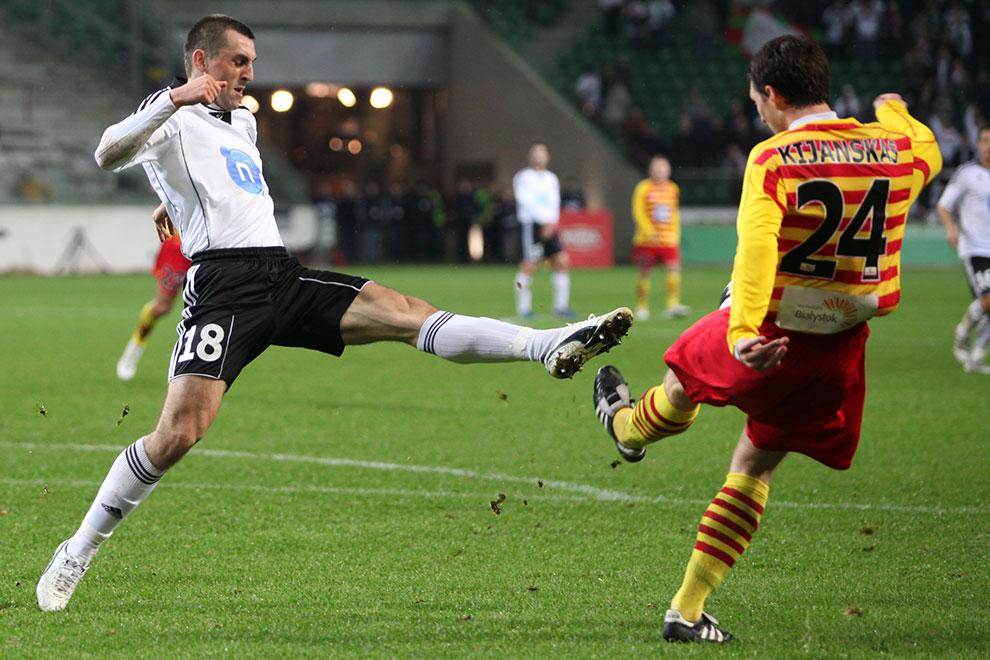 Legia Warszawa 2-0 Jagiellonia Białystok - fot. Piotr Galas (zdjęcie 23 z 77)