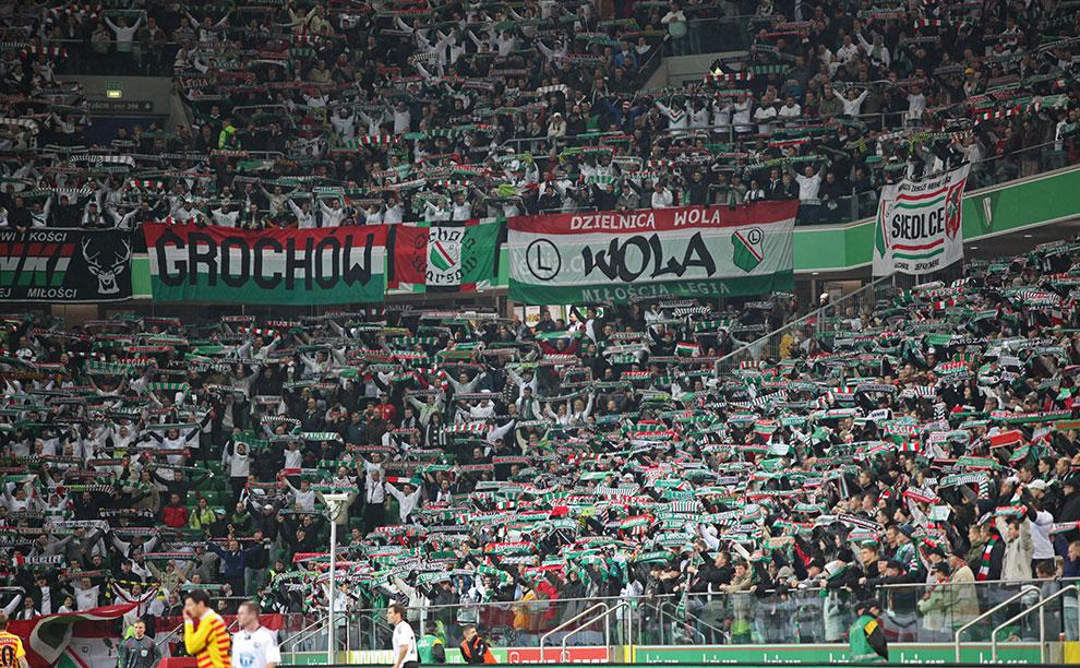 Legia Warszawa 2-0 Jagiellonia Białystok - fot. Piotr Galas (zdjęcie 25 z 77)