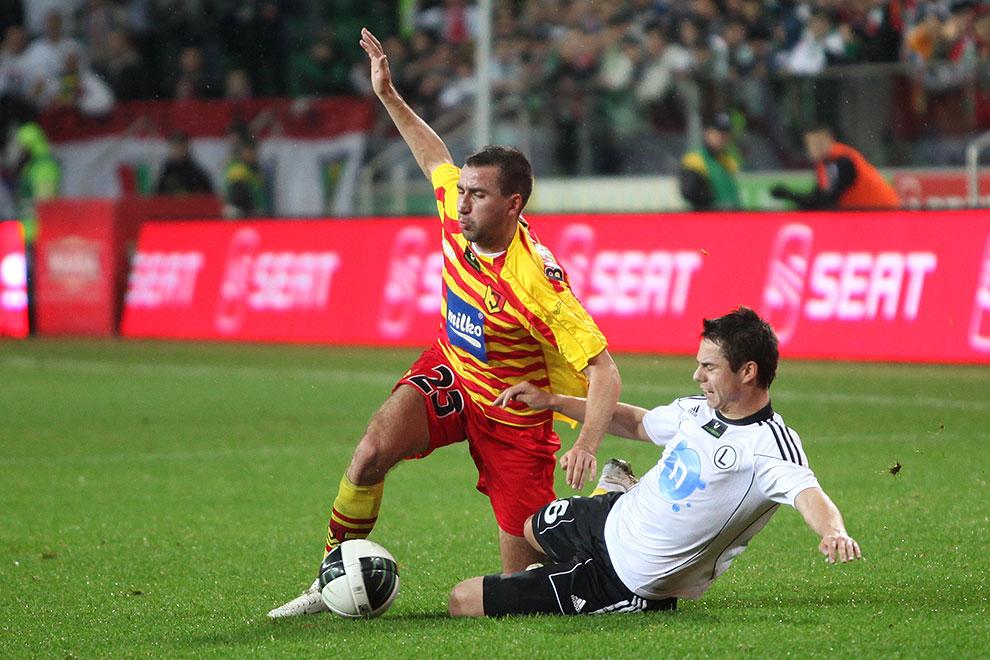 Legia Warszawa 2-0 Jagiellonia Białystok - fot. Piotr Galas (zdjęcie 27 z 77)