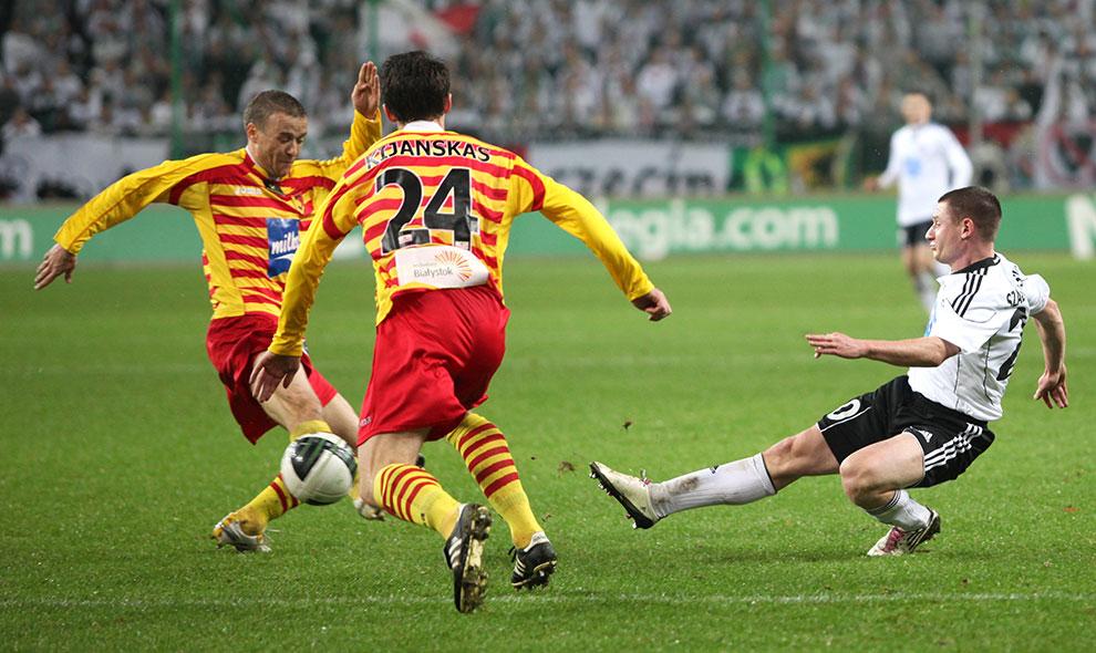 Legia Warszawa 2-0 Jagiellonia Białystok - fot. Piotr Galas (zdjęcie 31 z 77)