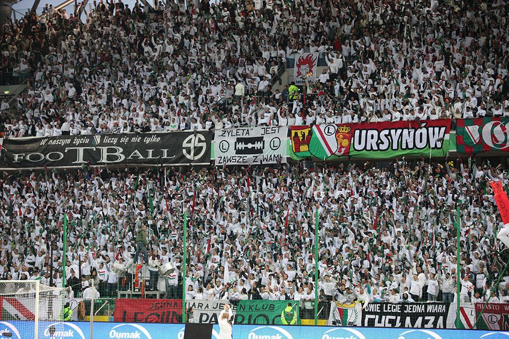 Legia Warszawa 2-0 Jagiellonia Białystok - fot. Piotr Galas (zdjęcie 4 z 77)