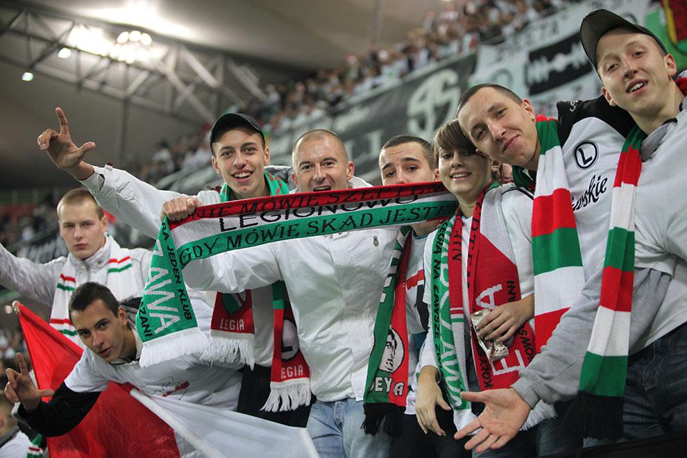 Legia Warszawa 2-0 Jagiellonia Białystok - fot. Piotr Galas (zdjęcie 44 z 77)
