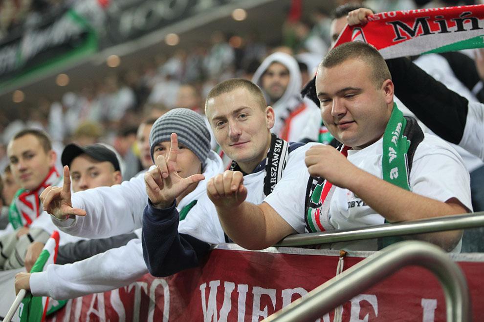 Legia Warszawa 2-0 Jagiellonia Białystok - fot. Piotr Galas (zdjęcie 45 z 77)