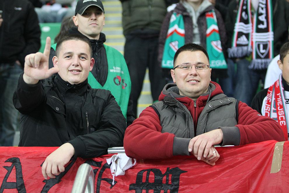 Legia Warszawa 2-0 Jagiellonia Białystok - fot. Piotr Galas (zdjęcie 46 z 77)