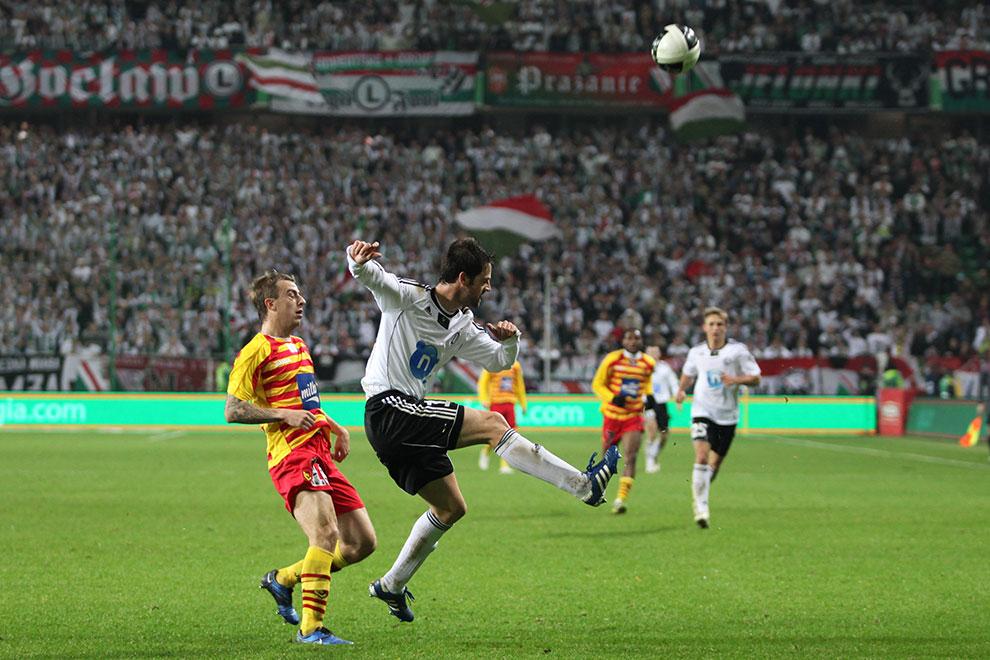 Legia Warszawa 2-0 Jagiellonia Białystok - fot. Piotr Galas (zdjęcie 55 z 77)