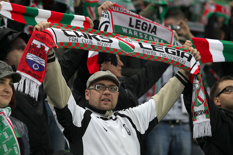 Legia Warszawa 2-0 Jagiellonia Białystok - fot. Piotr Galas (zdjęcie 6 z 77)